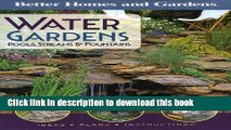 [PDF] Water Gardens, Pools, Streams   Fountains (Better Homes and Gardens Gardening) Popular Online