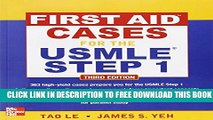New Book First Aid Cases for the USMLE Step 1, Third Edition (First Aid USMLE)