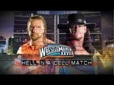 WWE Wrestlemania 28 Triple H vs Undertaker Hell In A Cell Match