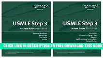Collection Book USMLE Step 3 Lecture Notes Bundle
