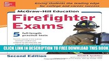 Collection Book McGraw-Hill Education Firefighter Exam, 2nd Edition