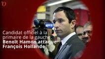 Primaire à gauche : Benoît Hamon s'en prend vivement à François Hollande