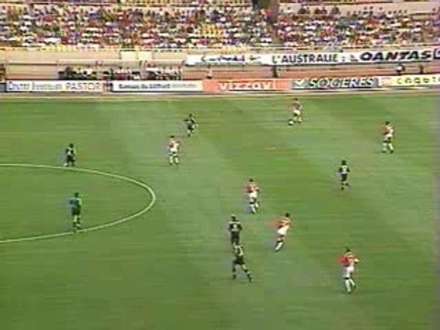Monaco-Nantes (2-5)  saison 2000-2001