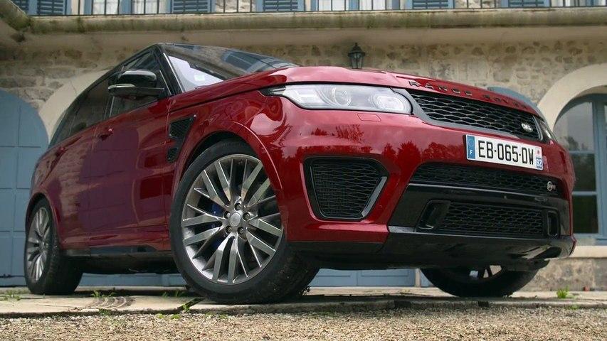 Essai LAND ROVER Range Rover Sport SVR