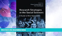 Big Deals  Research Strategies in the Social Sciences: A Guide to New Approaches  Free Full Read