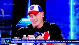 WWE WWE 2016 WWE Network WWE Superstar John cena interview T