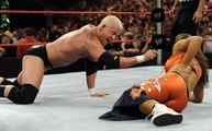 WWE RAW 06/16/2008: Mixed Tag Team Match