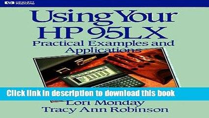 Hewlett Packard 95LX Resource