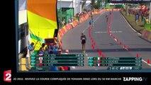 JO 2016 - 50 km marche : Yohann Diniz malade, il termine à la huitième place (Vidéo)