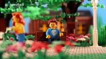 Man proposes to girlfriend using Lego stop-motion animation at cinema