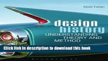 [PDF] Design History: Understanding Theory and Method Full Online
