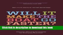 [PDF] Will It Make the Boat Go Faster?: Olympic-Winning Strategies for Everyday Success Popular