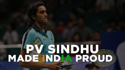 Indian Shuttler PV Sindhu wins Silver at Rio 2016