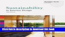 [PDF] Sustainability in Interior Design (Portfolio Skills. Interior Design) [Full Ebook]