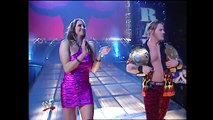 Stephanie McMahon & Chris Jericho & Triple H & Kurt Angle Segment Raw 02.25.2002 (HD)