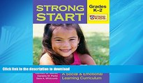 FAVORIT BOOK Strong Start - Grades K-2: A Social and Emotional Learning Curriculum (Strong Kids)