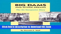 Collection Book Big Dams and Other Dreams: The Six Companies Story