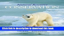 [PDF] Natural Resource Conservation: Management for a Sustainable Future (10th Edition) Popular