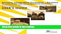 Download Sensory Integration Inventory for Individuals With Developmental Disabilities [Full Ebook]