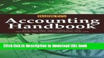 [PDF] Accounting Handbook (Barron s Accounting Handbook) Popular Colection[PDF] Accounting