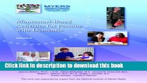 [PDF] Montessori-Based Activities for Persons with Dementia Popular Online