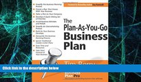 Big Deals  The Plan-As-You-Go Business Plan  Free Full Read Most Wanted