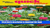 [PDF] Better Homes and Gardens Quick Color Gardening (Better Homes and Gardens Gardening) Full