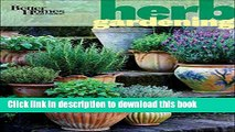 [PDF] Better Homes and Gardens Herb Gardening (Better Homes and Gardens Gardening) Popular Online