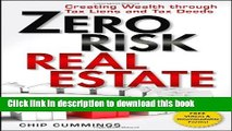 [PDF] Zero Risk Real Estate: Creating Wealth Through Tax Liens and Tax Deeds Full Colection