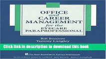 Collection Book Office and Career Management for the Eyecare Paraprofessional (The Basic Bookshelf
