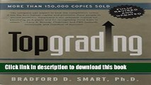 [PDF] Topgrading (revised PHP edition): How Leading Companies Win by Hiring, Coaching and Keeping