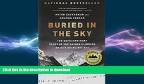 FAVORITE BOOK  Buried in the Sky: The Extraordinary Story of the Sherpa Climbers on K2 s