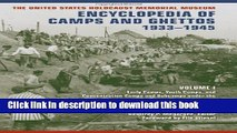 New Book The United States Holocaust Memorial Museum Encyclopedia of Camps and Ghettos,