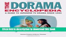 Collection Book The Dorama Encyclopedia: A Guide to Japanese TV Drama Since 1953