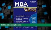 Big Deals  MBA Fundamentals Business Writing (Kaplan Test Prep)  Best Seller Books Most Wanted