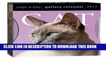 Ebook Cat Page-A-Day Gallery Calendar 2017 Free Read