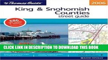 Read Now Thomas Guide 2006 King   Snohomish Counties, Washington: Street Guide (King, Snohomish