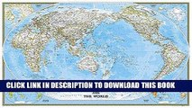 Read Now World Classic, Pacific Centered [Enlarged and Laminated] (National Geographic Reference