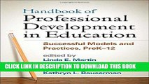 Read Now Handbook of Professional Development in Education: Successful Models and Practices,