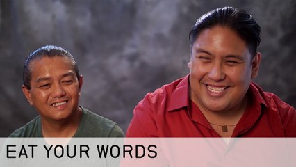 Eat Your Words Ep 102 - Uncle Pogi is the Ice Man to Rene's Cooking Freakout