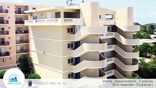 A vendre - Appartement - Sint maarten (Cupecoy) - 3 pièces - 84m²