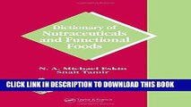 [PDF] Dictionary of Nutraceuticals and Functional Foods (Functional Foods   Nutraceuticals Series)