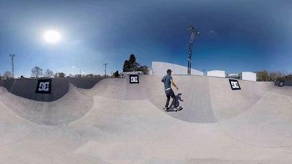 Sandro Moral en cámara 360º (mové la pantalla y probá)