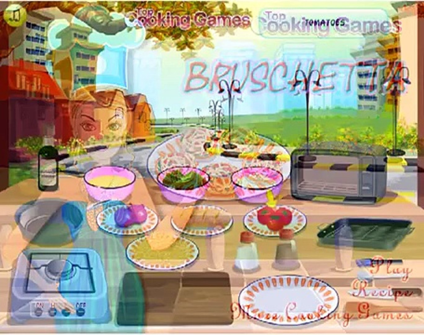 Bruschetta Games-Cooking Games-Girl Games