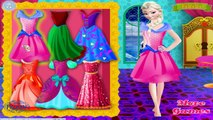 Disney Frozen ELSA Bridesmaid - Frozen Elsa and Anna and Kristoff Wedding Dress Up Games for girls