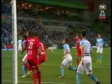 Melbourne City vs Adelaide United 2-0 Goal Bruno Fornaroli Penalty (28_10_2016) A-League