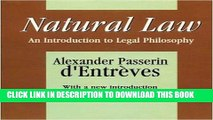 [READ] EBOOK Natural Law: An Introduction to Legal Philosophy (Comparative Urban and Community