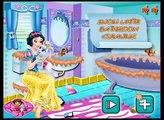 Disney Princess Games - Snow White Bathroom Clean-up – Best Disney Games For Kids Snow White