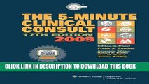 [FREE] EBOOK The 5-Minute Clinical Consult 2009, Book and Website (The 5-Minute Consult Series)