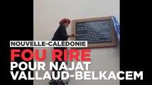 Le fou-rire de Najat Vallaud-Belkacem en Nouvelle-Calédonie